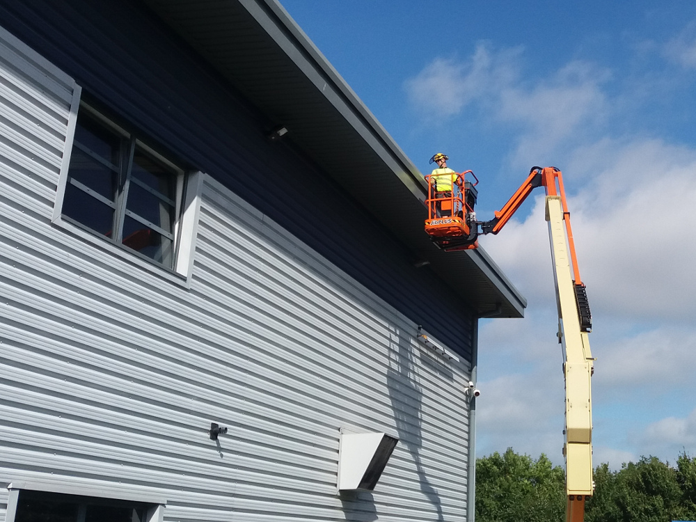 Exterior Facilities Management Gutter Cleaning Mewp Kent