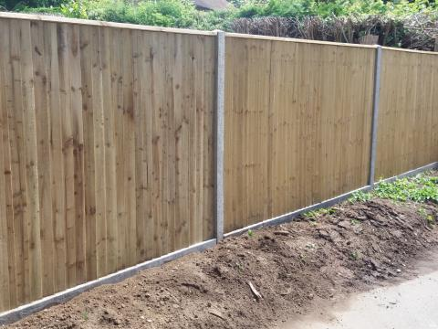 Closeboard Fencing Installed Kent