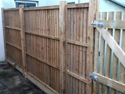 Closeboard Fence Panels Installed Kent
